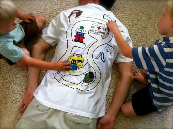 maglietta festa papa