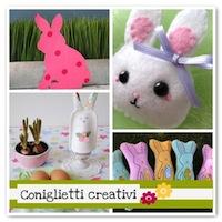 Idee per realizzare coniglietti di Pasqua!