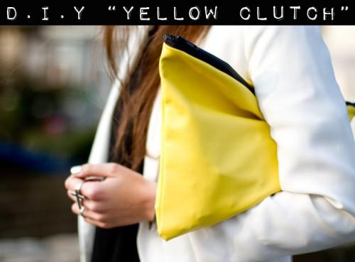borsa in giallo