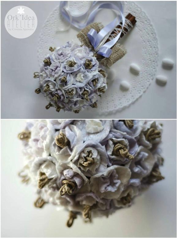 risultato_bouquet_riciclo_carta_cristina_sperotto