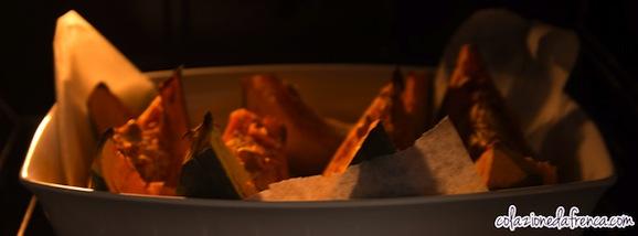 zucca cotta al forno