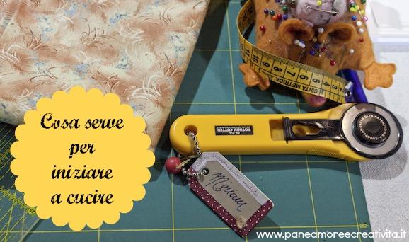 Scuola di cucito: cosa serve per cucire, strumenti e materiali da acquistare
