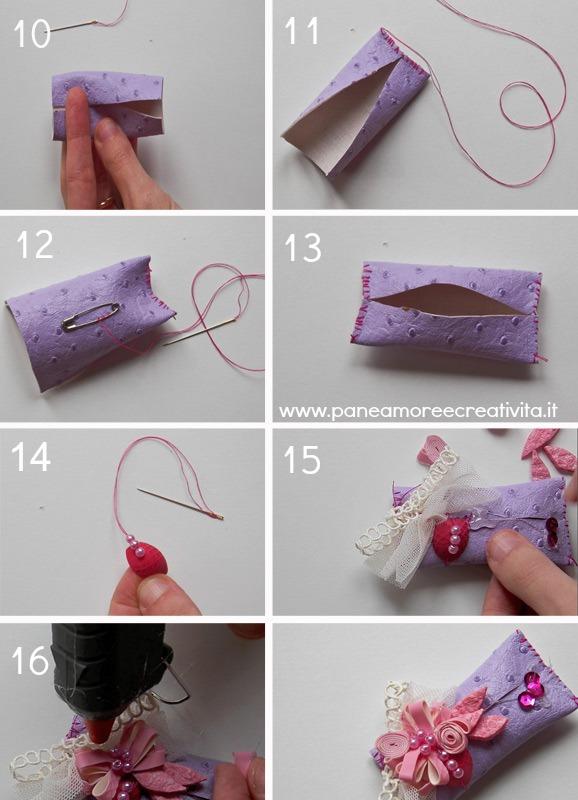spilla - riciclo guanti vileda - 3