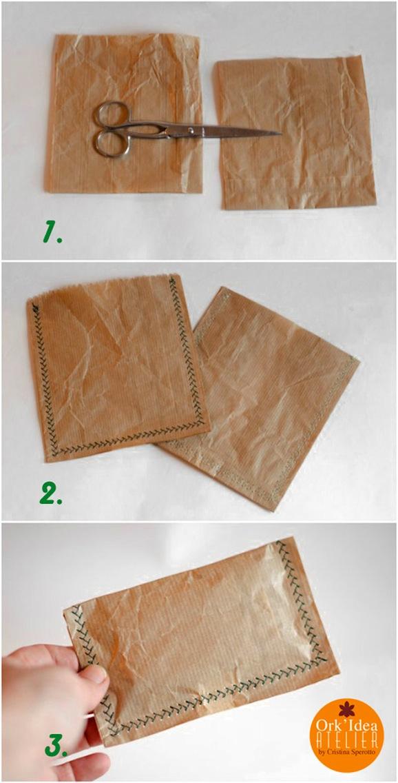 spesso Come fare una bomboniera riciclando carta e plastica - Pane, Amore  FE35