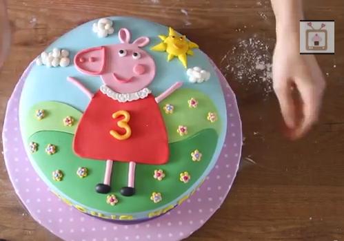Come Fare La Torta Di Peppa Pig Pane Amore E Creatività