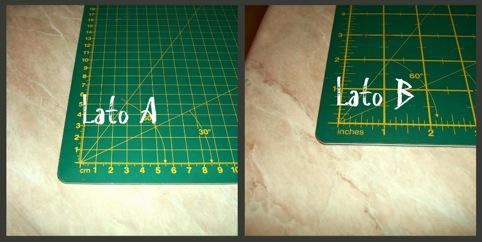 piano di taglio con misure - patchwork