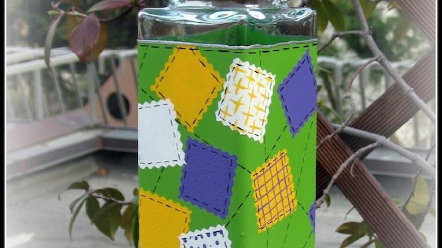 vasetto di vetro