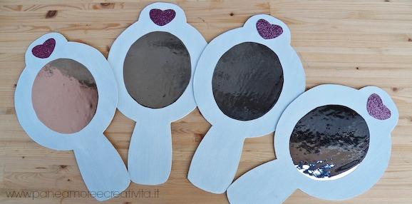 Lo specchio da principessa pane amore e creativit - Carta a specchio ...