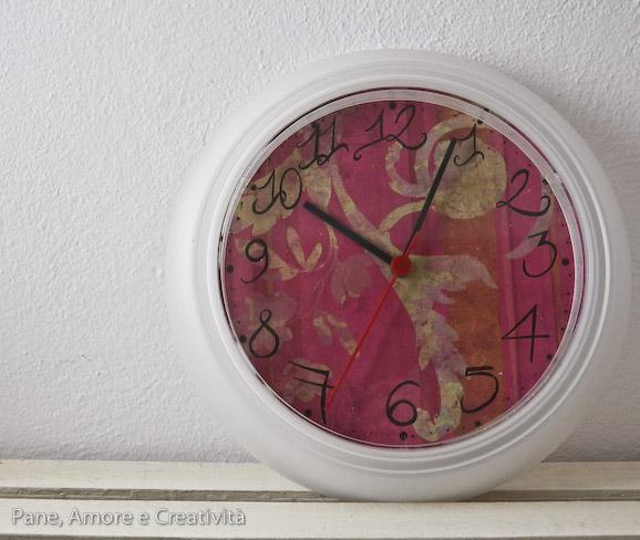 Craft room il mio orologio ikea cambia colore pane for Orologio ikea