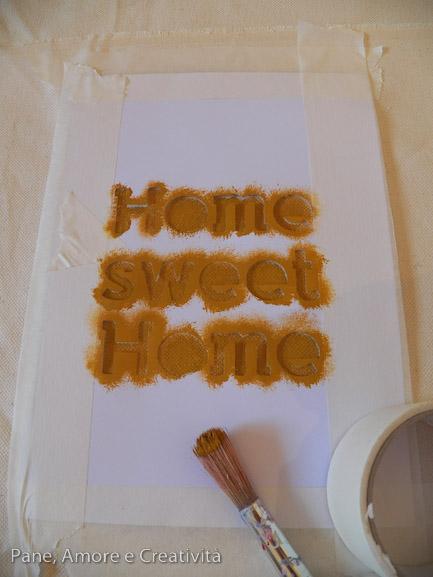 stencil home sweet home