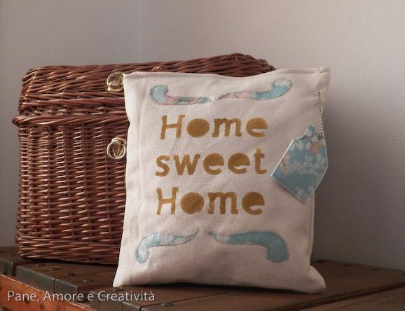 cuscino home sweet home