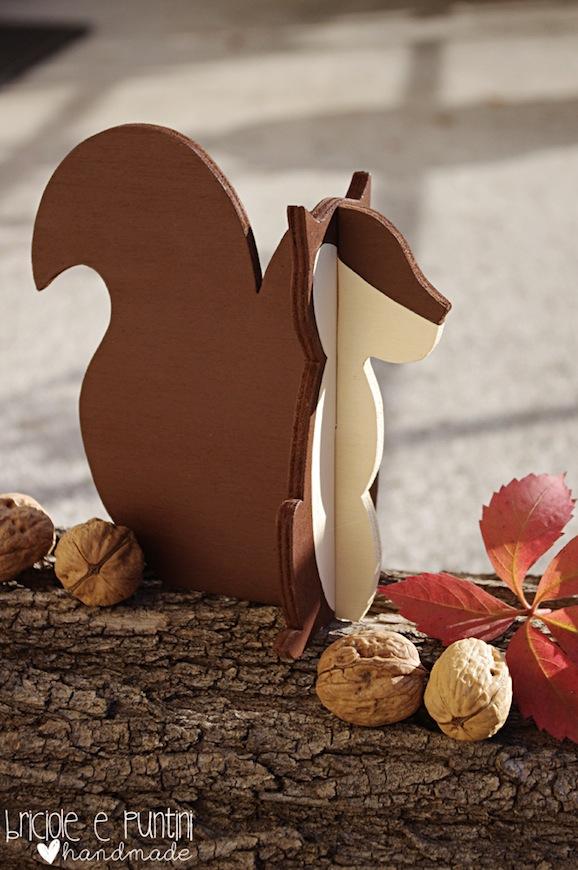 Come fare uno scoiattolo di legno
