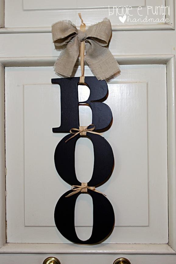 Come fare una decorazione per halloween da appendere alla porta di casa pane amore e creativit - Come si vende una casa ...