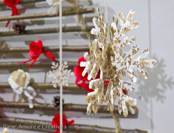 fiocco di neve di carta