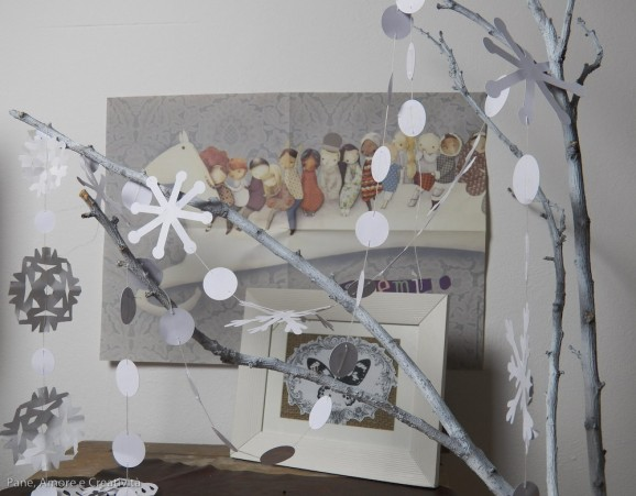 Fiocchi Di Neve Di Carta Da Ritagliare Tutorial : Fiocchi di neve da stampare