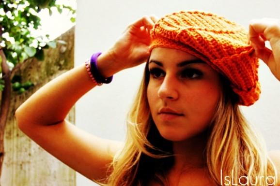 Sofia e cappello arancione