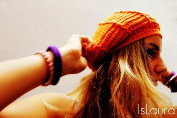 sofia berretto arancione