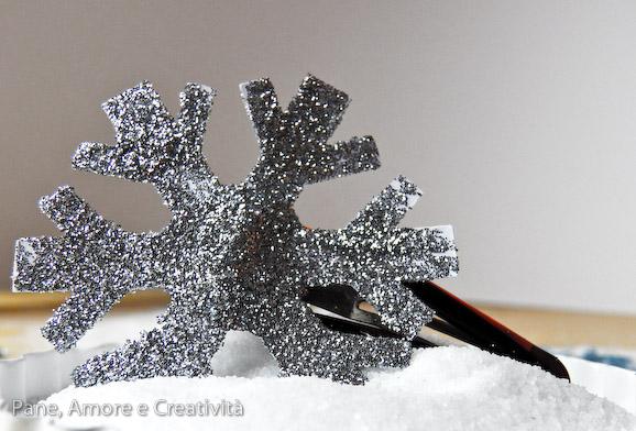 fermaglio fiocco di neve per costume frozen