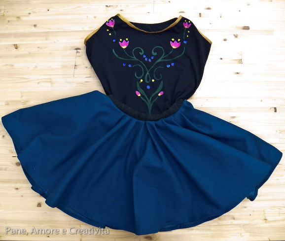 15 awesome diy princess anna costume tutorials for little girls skirt suit for anna frozen solutioingenieria Image collections