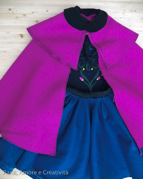 costume anna frozen diy