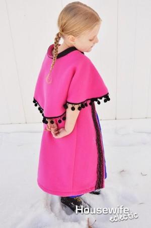 Anna Frozen Cloak 4