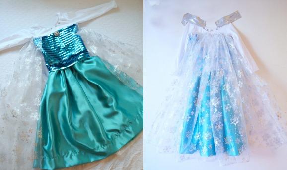 costume Elsa di Frozen