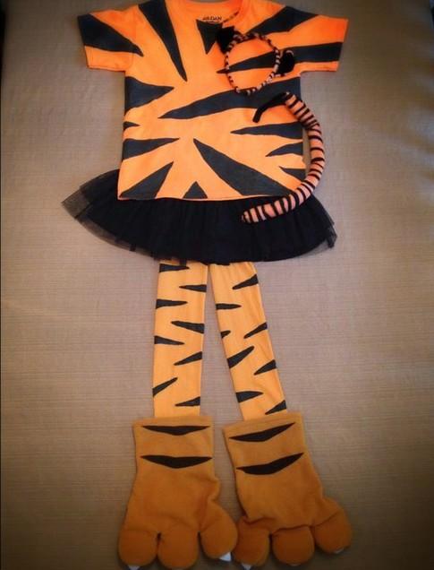 costume da tigre