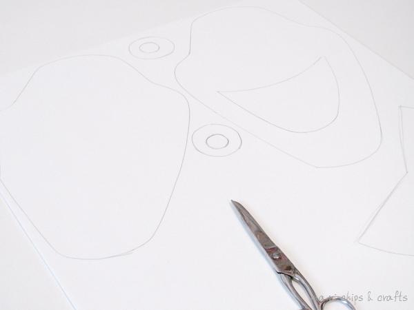 Come fare la maschera di olaf il pupazzo di neve di for Frozen da colorare e stampare