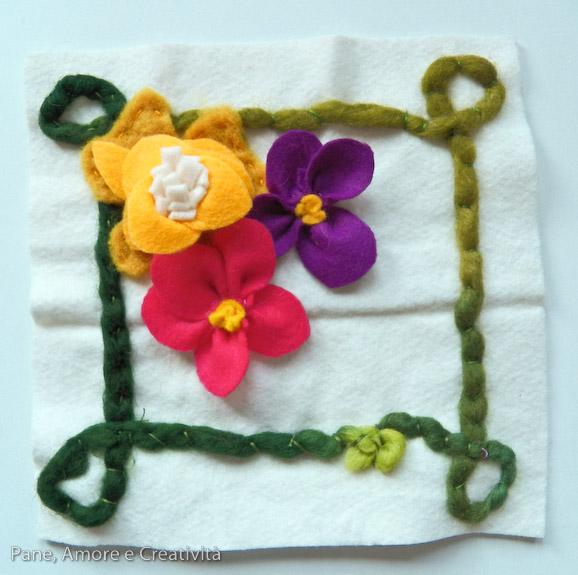 fiore di feltro