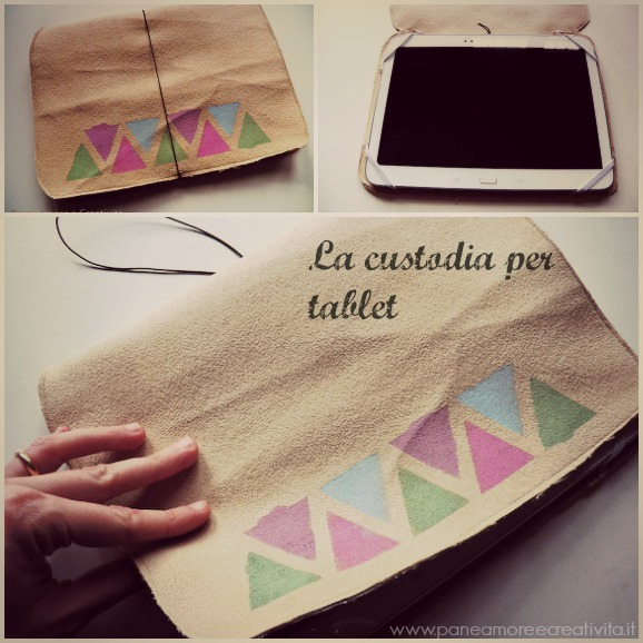 custodia per tablet