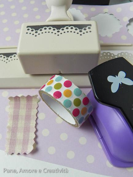 materiali scatolina rosa