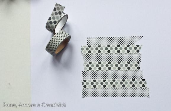 washi tape tutorial cuore 1