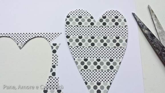 washi tape tutorial cuore 2