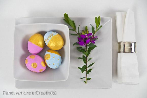 uova dorate per pasqua