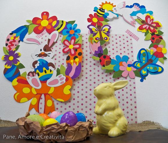 Lavoretti di Pasqua: le uova colorate con i Sabbiarelli