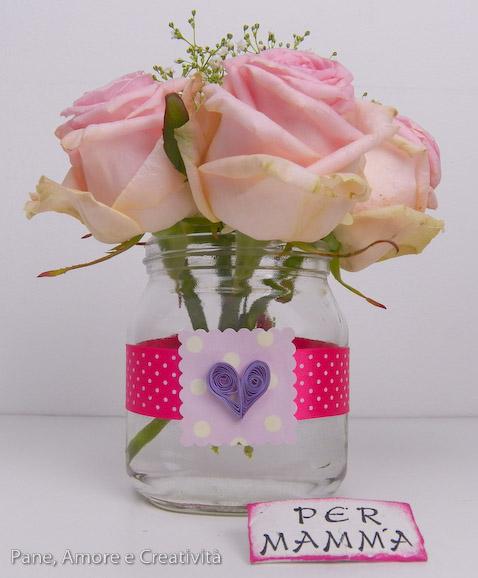 bouquet di rose - festa della mamma