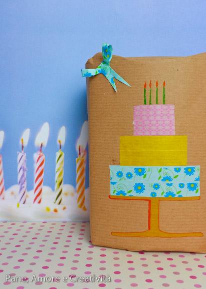 torta di washi tape