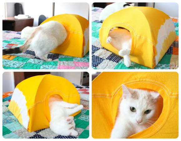 tenda per gatti