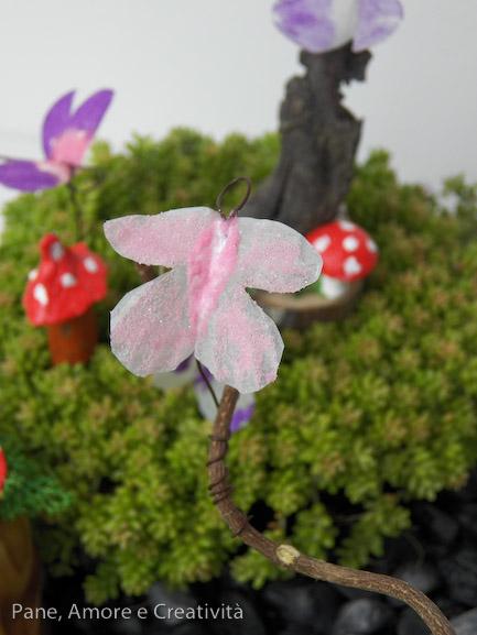villaggio delle fate - farfalla sabbiarelli