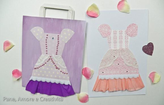 vestiti della principessa - giochi di carta