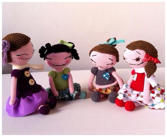 bambole crochet - creo ergo sum