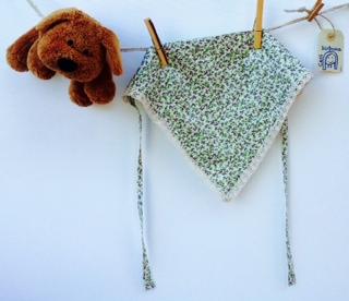 foulard per bambina - tutorial