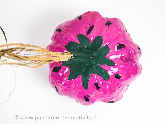 fragola - zucche da decorare