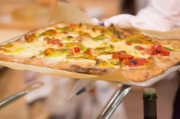 Pizza con alimenti ritrovati_SANA