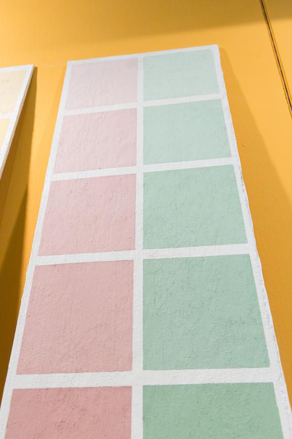 gradazioni di colore con la tinta calcelatte