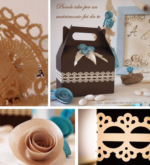 Popolare Matrimonio fai da te: la scatolina per la bomboniera | Pane, Amore  PF31