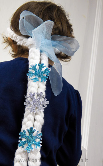 Come si fa la parrucca di elsa frozen