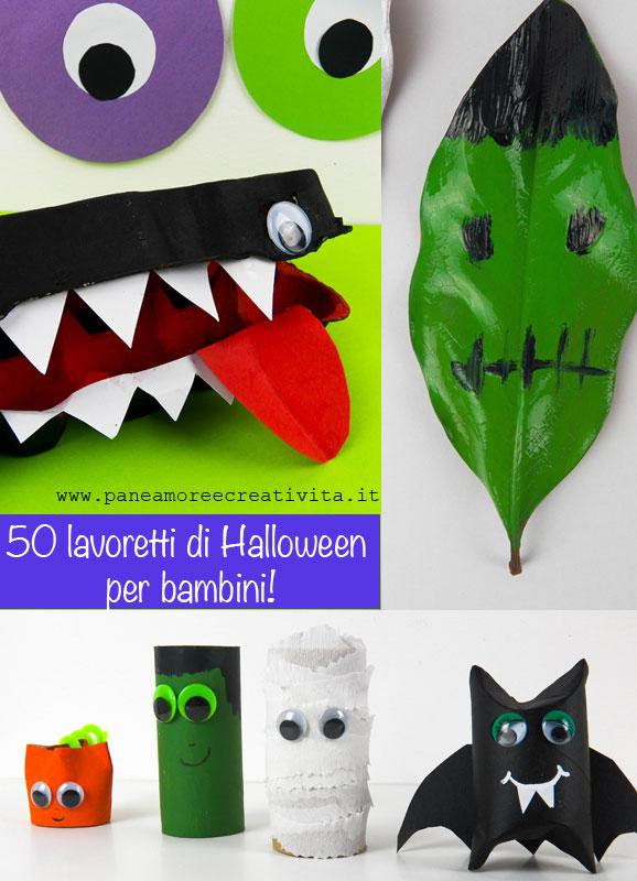 abbastanza 50 lavoretti di Halloween per bambini | Pane, Amore e Creatività QQ11