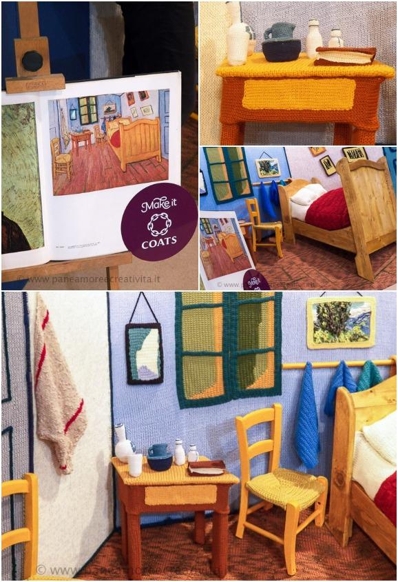 La stanza di Van Gogh ad Arles - crochet