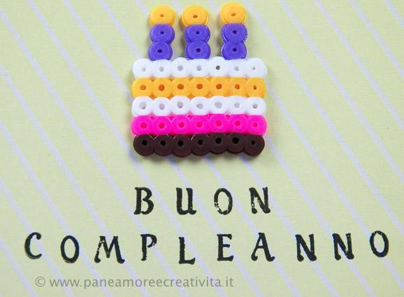 cake - pyssla beads